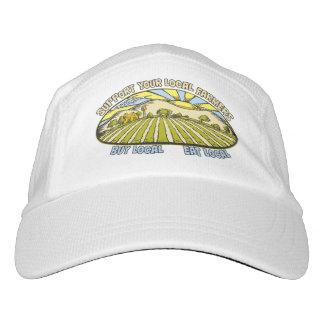 Stützen Sie Ihre lokalen Bauern Headsweats Kappe