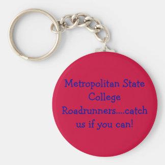 Stützen Sie Ihre Uni oder Universität Standard Runder Schlüsselanhänger