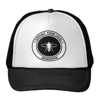 Stützen Sie Ihren lokalen Imker Trucker Cap