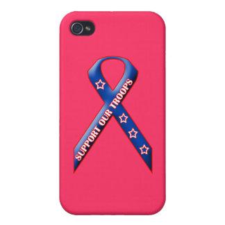 Stützen Sie unsere Truppen iPhone 4/4S Cover