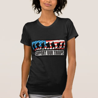 Stützen Sie unsere Truppen T-Shirt