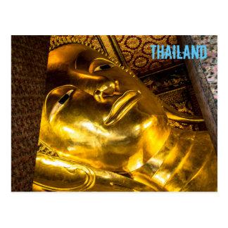 Stützender Buddha von Wat Pho Postkarte
