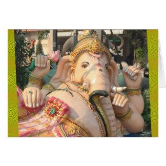 Stützendes Ganesha, Thailand Karte
