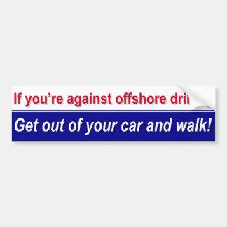 Stützhochseebohrung! Autoaufkleber