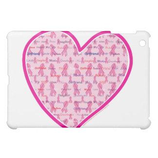 Stützkrebs-Rosa-Band iPad Mini Hülle