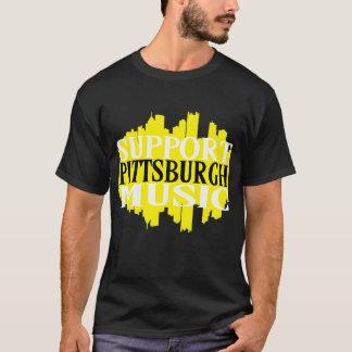 Stützpittsburgh-Musik-T - Shirt
