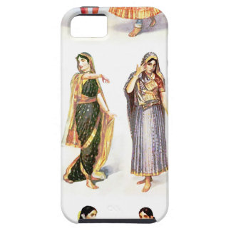 Styles_of_Sari Vintager Druck Hülle Fürs iPhone 5