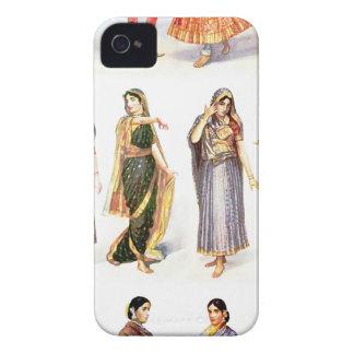 Styles_of_Sari Vintager Druck iPhone 4 Hüllen