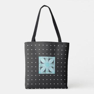 Stylish-Day-Bags's_Vintage Mod Punkt-Blume-TASCHEN Tasche