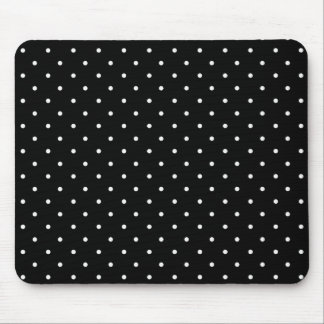 Stylish_Tradiononal-Decor- (c) Classic_Polka-Dots Mousepad