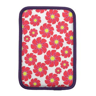 Stylized Blumen Sleeve Für iPad Mini