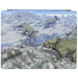 Styracosaurus nahe Wasser 3D übertragen iPad Smart Cover