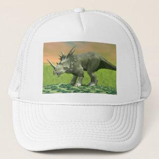 Styracosaurusdinosaurier - 3D übertragen Truckerkappe