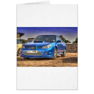 "Subaru Impreza WTI ""Hawkeye"" im Blau Karte"