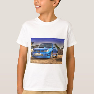 "Subaru Impreza WTI ""Hawkeye"" im Blau T-Shirt"
