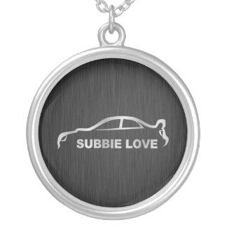 Subbie WTI-Halskette Halskette Mit Rundem Anhänger