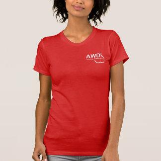 Subie Mädchen schaukeln jene Kurven T-Shirt