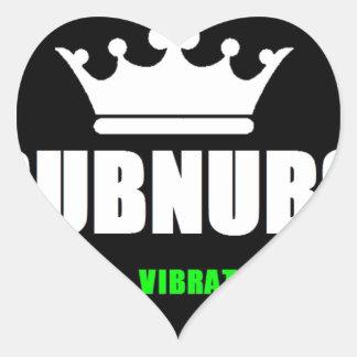 SubNubs_GoodVibrations Herz-Aufkleber