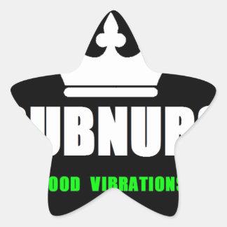 SubNubs_GoodVibrations Stern-Aufkleber