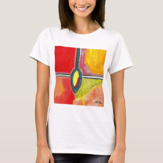 SubQuantum Alphabet: YIN Frauen T-Shirt