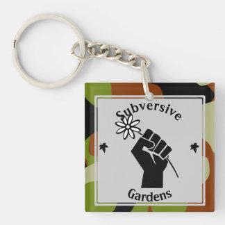 Subversivee Gärten Schlüsselanhänger