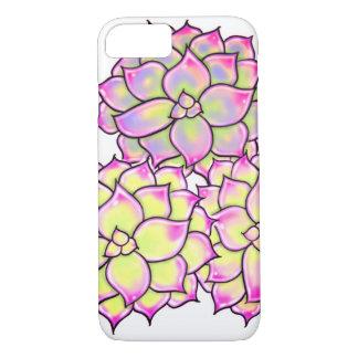Succulents - gelbe Farben iPhone 8/7 Hülle