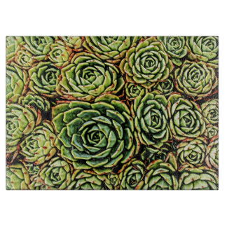 Succulents-Schneidebrett Schneidebrett