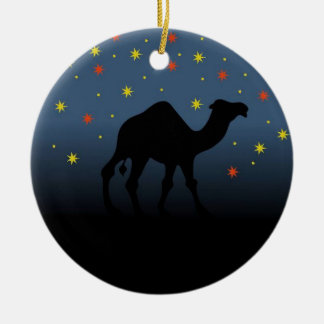 Suchen nach einem Stern Keramik Ornament