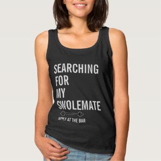 Suchen nach meiner SwoleMate Turnhallen-Fitness Tank Top