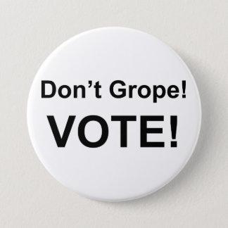 Suchen Sie nicht Abstimmungsknopf tastend Runder Button 7,6 Cm