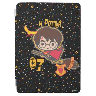 Sucher Cartoon-Harry Potter Quidditch iPad Air Hülle