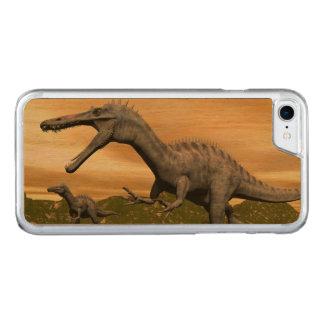Suchomimus Dinosaurier - 3D übertragen Carved iPhone 8/7 Hülle