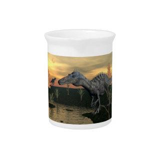 Suchomimus Dinosaurier - 3D übertragen Getränke Pitcher