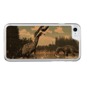 Suchomimus Dinosaurier, die Fische und Haifisch Carved iPhone 8/7 Hülle