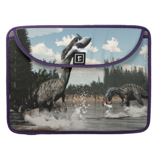Suchomimus Dinosaurier, die Fische und Haifisch Sleeve Für MacBook Pro