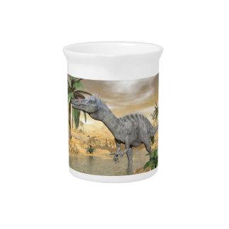 Suchomimus Dinosaurier in der Wüste - 3D Krug