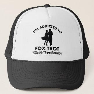 süchtig foxtrot truckerkappe