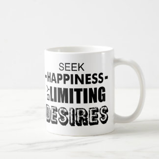 Suchvorgang-Glück durch die Begrenzung von Kaffeetasse