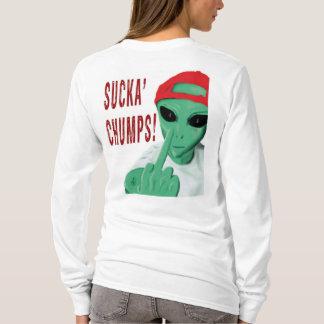 Sucka Holzklötze für die Damen T-Shirt