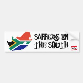 Südafrika-Flagge 3, meetup_logo_100_white_1, Sa… Autoaufkleber