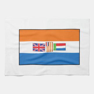 Südafrika-Flagge Handtuch