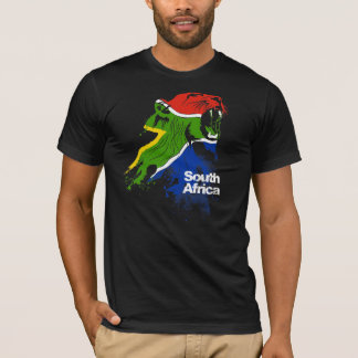 Südafrika-Flagge T-Shirt