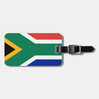 Südafrika-Flagge - Vlag van Suid-Afrika Gepäckanhänger
