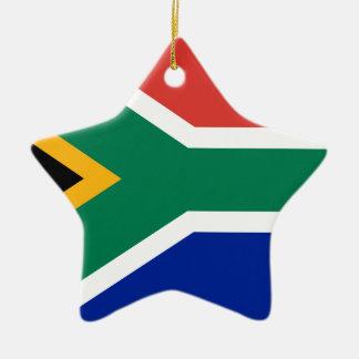 Südafrika-Flagge - Vlag van Suid-Afrika Keramik Ornament