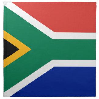 Südafrika-Flagge - Vlag van Suid-Afrika Serviette