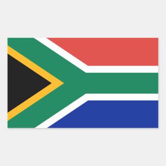 Südafrika * Flaggen-Aufkleber Rechteckiger Aufkleber
