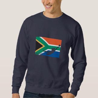 Südafrika-Flaggen-Schalen-T - Shirt