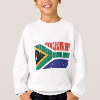 Südafrika-Flaggen-Welt Sweatshirt
