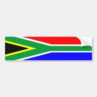 Südafrika-Landesflaggenationssymbol-Namentext Autoaufkleber