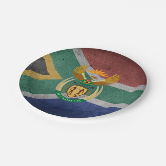 Südafrika Pappteller